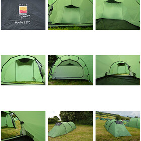 Terra Nova Wild Country Hoolie 2 ETC Tent green